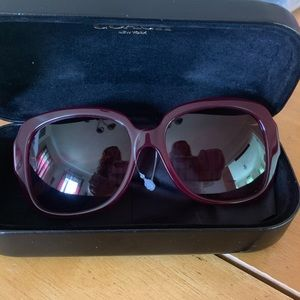 COACH HC8251 Gold Heart Sunglasses